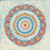 Lakai Circle II Framed Print
