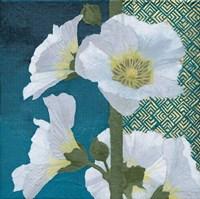 Soft Evening II indigo Fine Art Print