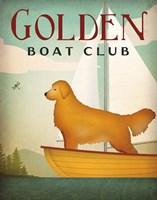 Golden Sail Fine Art Print