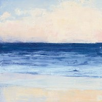 True Blue Ocean I Fine Art Print