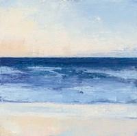 True Blue Ocean II Framed Print
