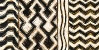 Black and Gold Geometric VII Fine Art Print