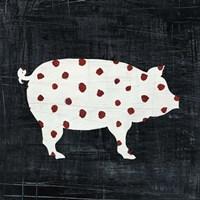 Modern Americana Farm I Fine Art Print