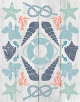 Coastal Otomi II on Wood Fine Art Print