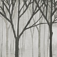 Spring Trees Greystone III Framed Print