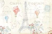 Lighthearted in Paris I Fine Art Print