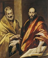 Saints Peter and Paul Fine Art Print