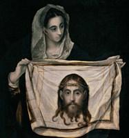 Saint Veronica with the Sudarium Fine Art Print