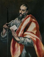 Saint Paul, the Apostle Fine Art Print