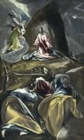 Christ in the Garden of Olives Fine Art Print