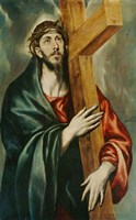 Christ Carrying the Cross Fine Art Print