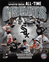 Chicago White Sox All-Time Greats Framed Print