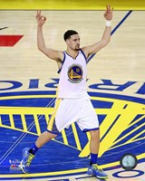 Klay Thompson Game 2 of the 2016 NBA Finals Fine Art Print