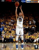 Stephen Curry Game 1 of the 2016 NBA Finals Fine Art Print