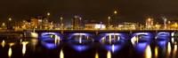 Queen's Bridge, Belfast, Northern Ireland Fine Art Print