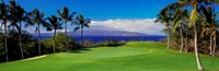 Wailea Emerald Course, Maui, Hawaii Framed Print