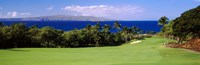 Wailea Golf Club, Maui, Hawaii Fine Art Print