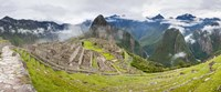 Machu Picchu in the Fog, Peru Fine Art Print