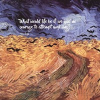 Courage - Van Gogh Quote 1 Fine Art Print