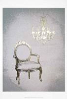 Gilded Furniture II - Metallic Foil Framed Print