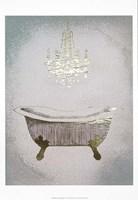 Gilded Bath II - Metallic Foil Framed Print