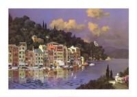 Portofino Sunlight Fine Art Print