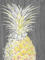 Vibrant Pineapple Splendor I Fine Art Print