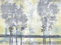 Watercolor Mist I Framed Print