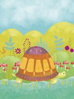 Happy Turtle I Fine Art Print