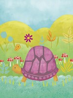 Happy Turtle II Fine Art Print