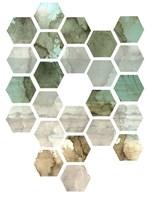 Hexocollage II Fine Art Print