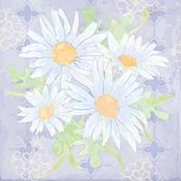 Daisy Patch Serenity I Fine Art Print