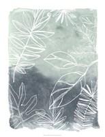 Tropical Batik I Framed Print