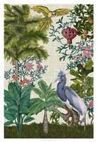 Paradis Chinoiserie I Framed Print