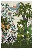 Paradis Chinoiserie II Framed Print