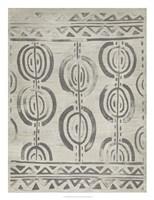 Mudcloth Patterns VIII Framed Print