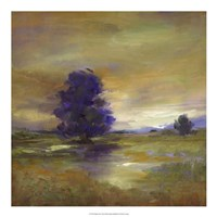 Purple Tree Fine Art Print