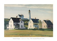 Lighthouse Village (also known as Cape Elizabeth), 1929 Fine Art Print