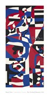 Composition Concrete (Study for Mural), 1957-1960 Fine Art Print