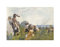Berry Pickers, 1873 Fine Art Print