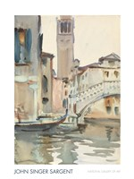 A Bridge and Campanile, Venice, 1902/04 Fine Art Print