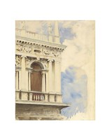 A Corner of the Library in Venice, 1904/07 Fine Art Print