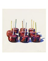 Nine Jelly Apples, 1964 Fine Art Print
