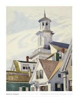 Methodist Church Tower, 1930 Fine Art Print