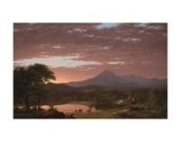 Mt. Ktaadn, 1853 Fine Art Print