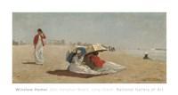 East Hampton Beach, Long Island, 1874 Fine Art Print