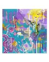 A Hummingbird's Folly Fine Art Print