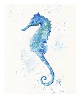 Sailing Along (Seahorse) Fine Art Print