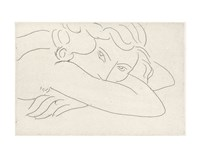 Young Woman with Face Buried in Arms, 1929 Fine Art Print