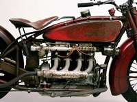 Detail of 4 Cylinder Indian Ace, 1929 Framed Print